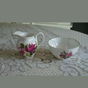 Royal Albert Mini Cream & Open Sugar Dish